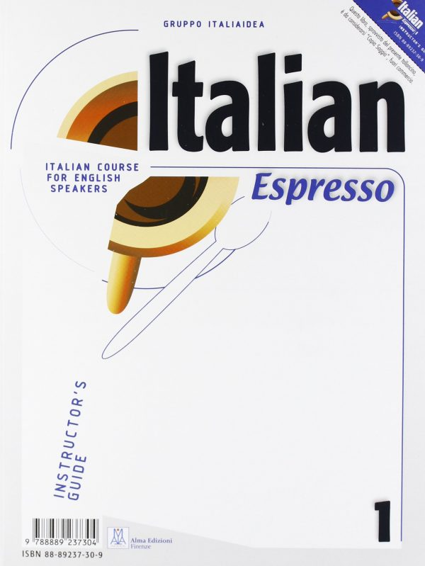Italian Espresso 1 - instructor's guide