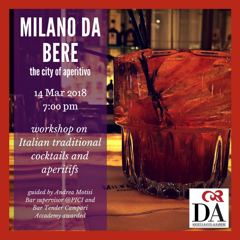 Milano da bere the city of aperitivo workshop on for Milano da bere locali